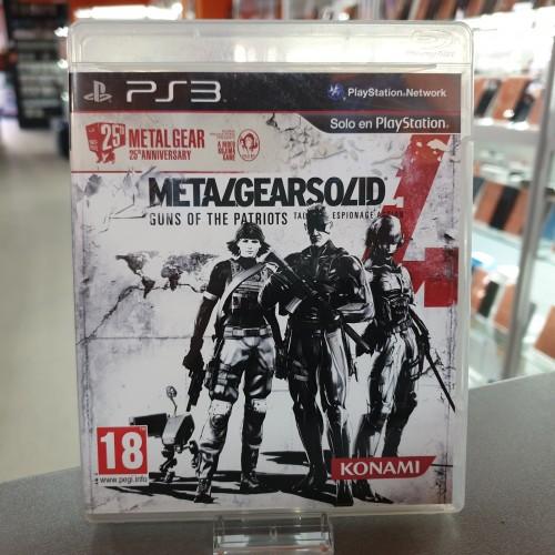 Metal Gear Solid 4 Guns of the Patriots - Joc PS3