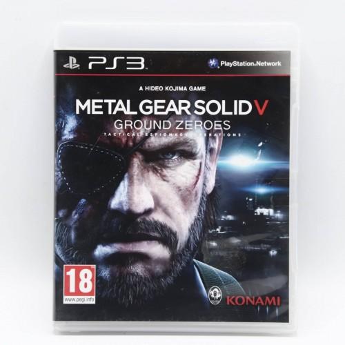 Metal Gear Solid V Ground Zeroes - Joc PS3