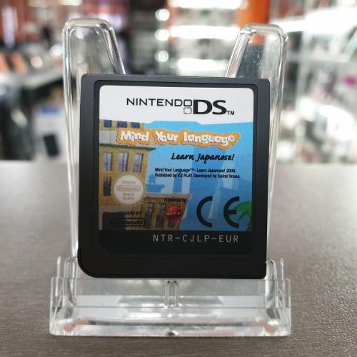 Mind your language Learn Japanese - Joc Nintendo DS