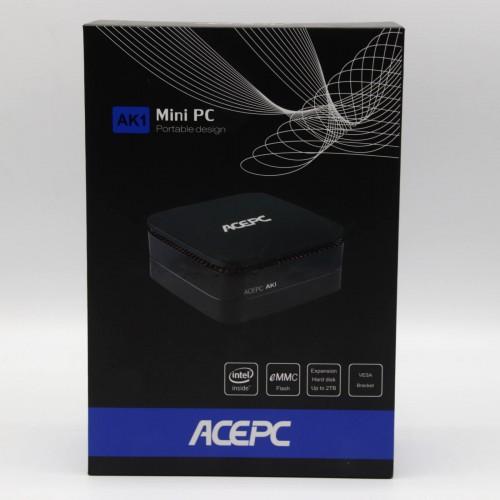 Mini PC ACEPC AK1 - Intel J3455, 6 Gb RAM, SSD 128 Gb eMMC