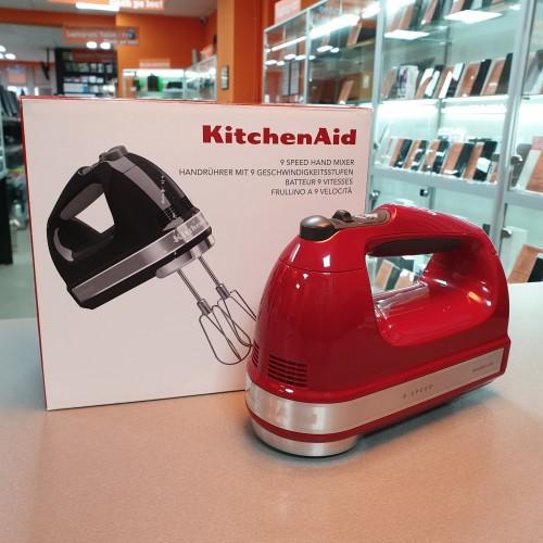 Mixer de bucatarie cu 9 viteze - 85W - Empire Red - KitchenAid