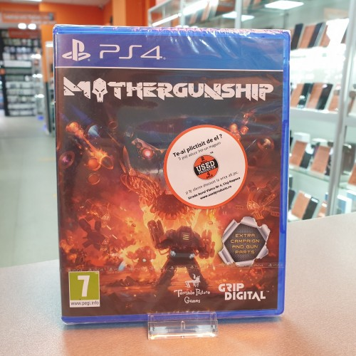 Mothergunship - Joc PS4