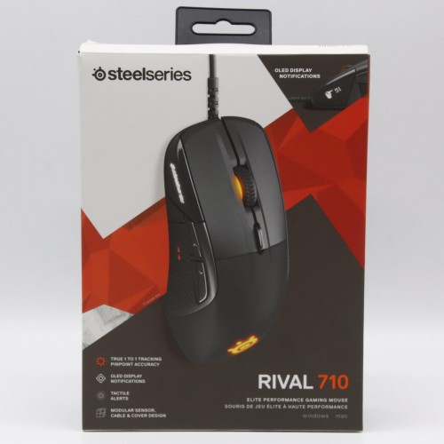 Mouse gaming SteelSeries Rival 710 - 12.000 dpi, USB