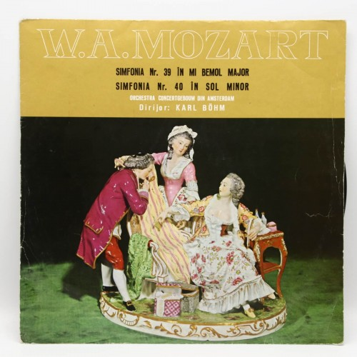 Mozart - Simfonia 39, 40 - Orchestra Amsterdam - Disc vinil