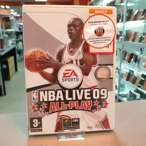 NBA Live 09 All-Play - Joc Nintendo WII