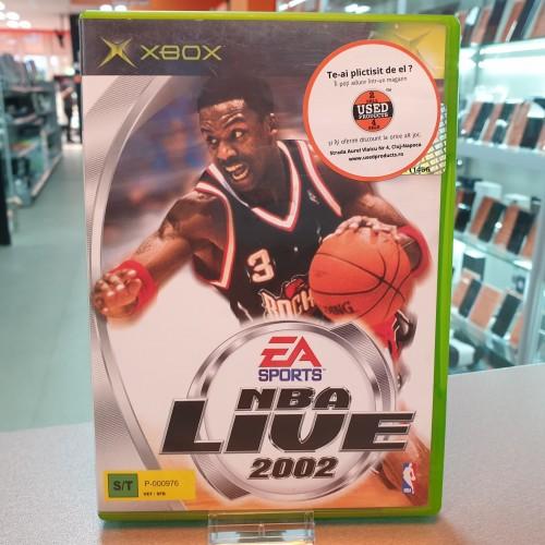NBA Live 2002 - Joc Xbox Classic