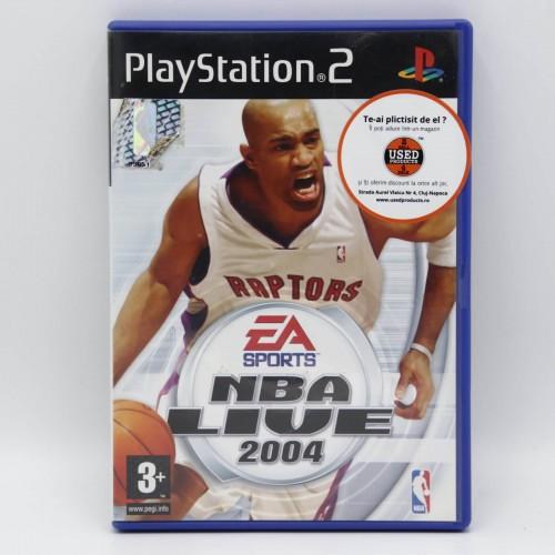 NBA Live 2004 - Joc PS2