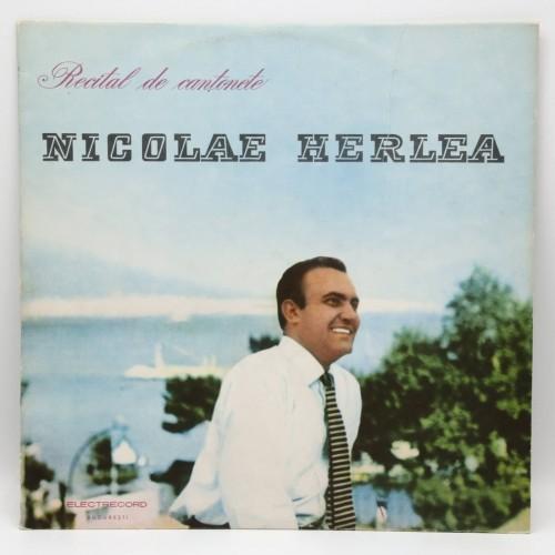 Nicolae Herlea - Recital de cantonete - Disc vinil