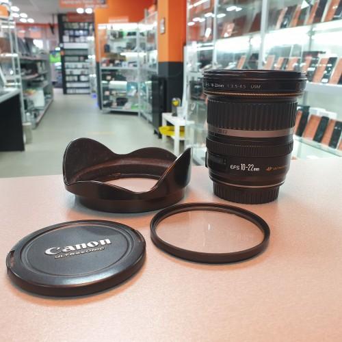 Obiectiv Canon EFS 10-22mm 1:3.5-4.5 USM
