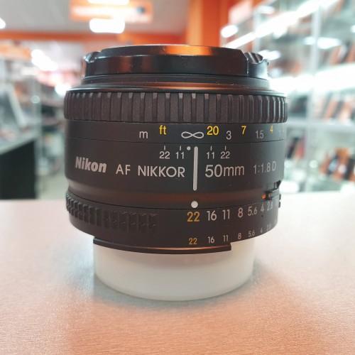 Obiectiv Nikon AF 50mm 1:1.8D