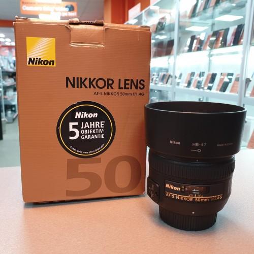 Obiectiv Nikon AF-S 50 mm 1:1.4G