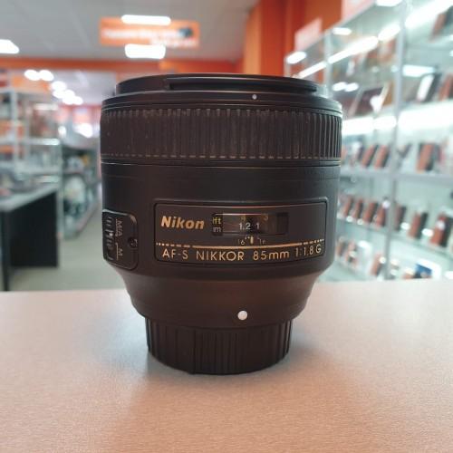 Obiectiv Nikon AF-S Nikkor 85mm 1:1.8G