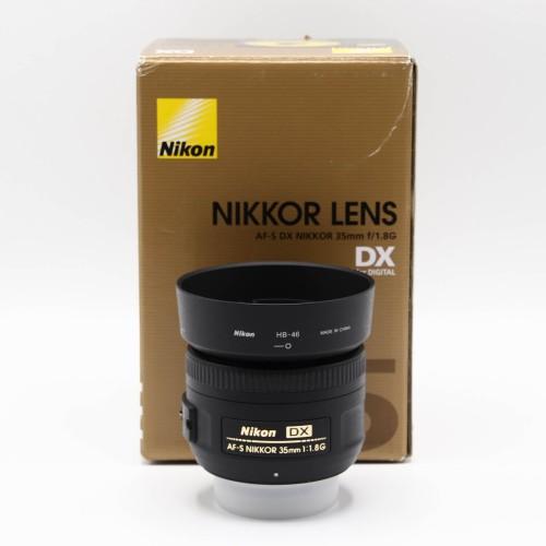 Obiectiv Nikon DX AF-S 35mm 1:1.8 G
