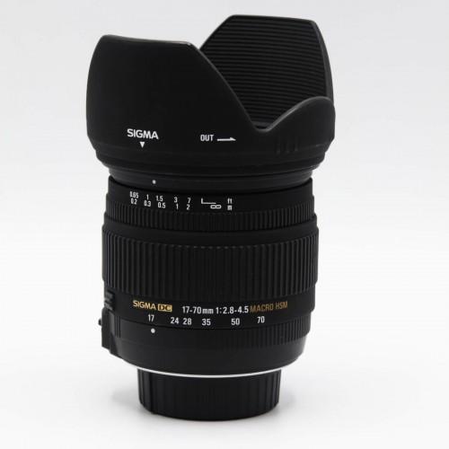 Obiectiv Sigma 17-70mm 1:2.8-4.5 Macro HSM - montura Nikon