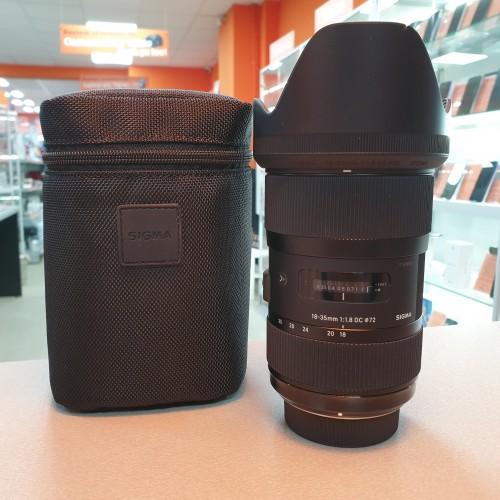 Obiectiv Sigma 18-35 mm 1:1.8 - Nikon