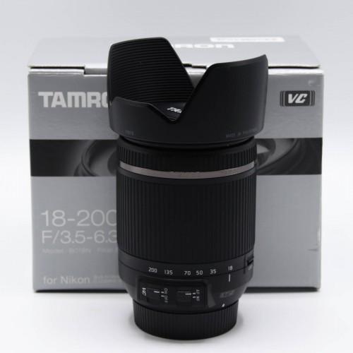 Obiectiv Tamron 18-200 mm F/3.5-6.3 Di ll VC - Montura Nikon
