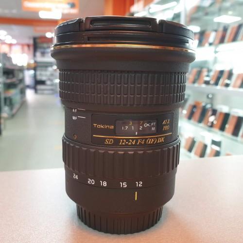 Obiectiv Tokina AT-X PRO SD 12-24mm F4 IF DX Montura Canon