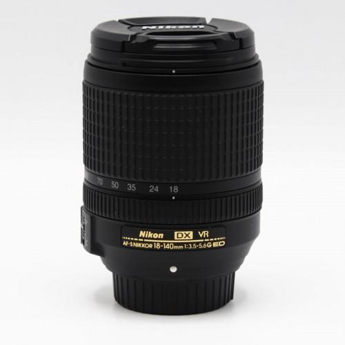 Obiectiv foto Nikon DX VR AF-S 18-140mm 1:3.5-5.6G ED