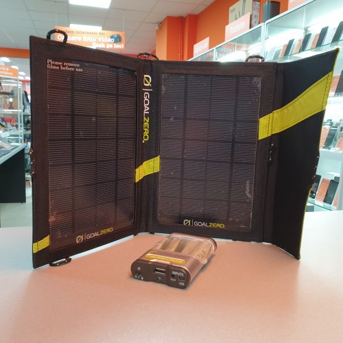 Panou Solar GoalZero Nomad 7 + GoalZero Guide 10 Plus