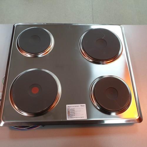 Plita electrica cu inductie Whirlpool AKM 300/IX/01 - 5.5kW, 56x49 Cm