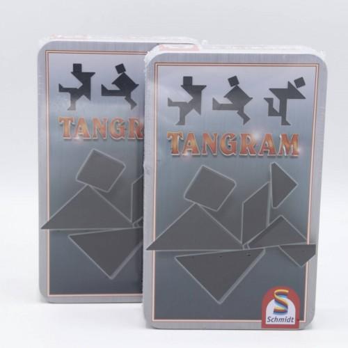 Puzzle Schmidt Tangram, 7 piese din lemn