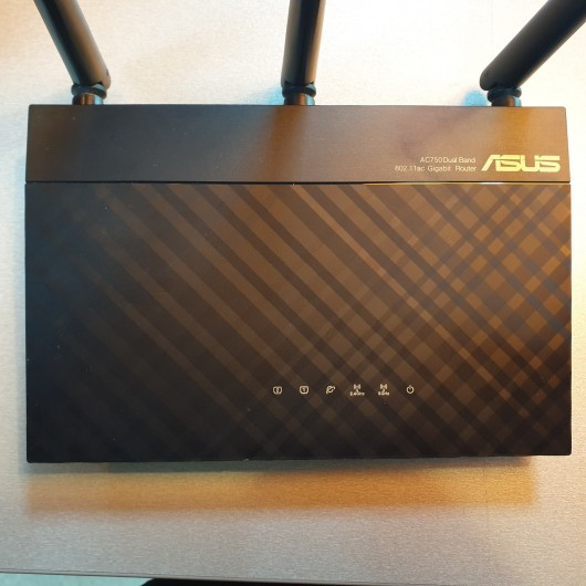 Router Wireless ASUS RT-AC53 Gigabit Dual Band