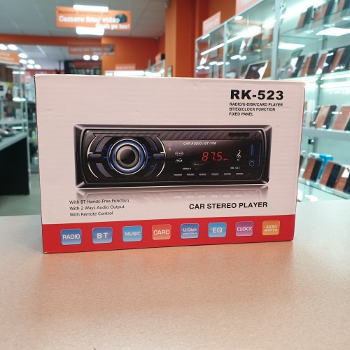 Radio Player Auto RK-522 / RK-523 Bluetooth, Card SD, 4 x 60W
