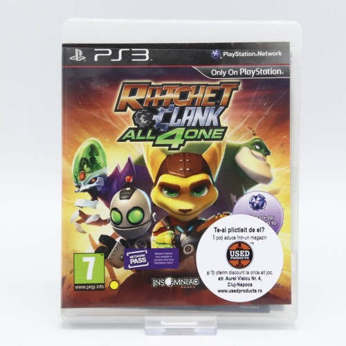 Ratchet and Clank All 4 One - Joc PS3