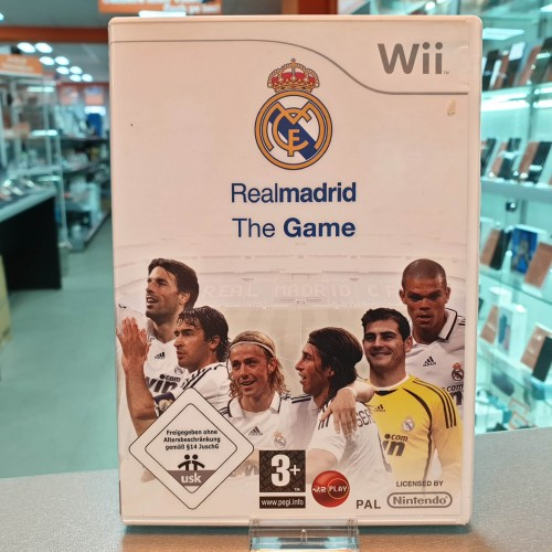 Real Madrid The Game - Joc Nintendo WII