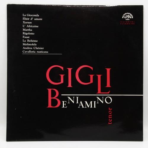 Recital Gigli Beniamino tenor - Disc Vinil