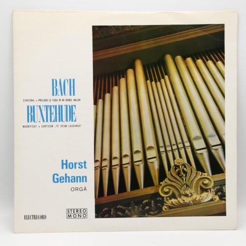 Recital de orga Horst Gehann - Bach, Buxtehude - Disc vinil