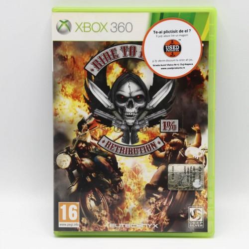 Ride to Hell Retribution - Joc Xbox 360