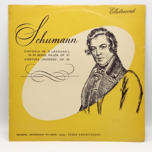Robert Schumann Simfonia 3 - Disc Vinil