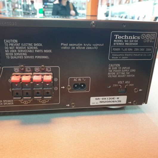 Amplituner Technics SA-GX130