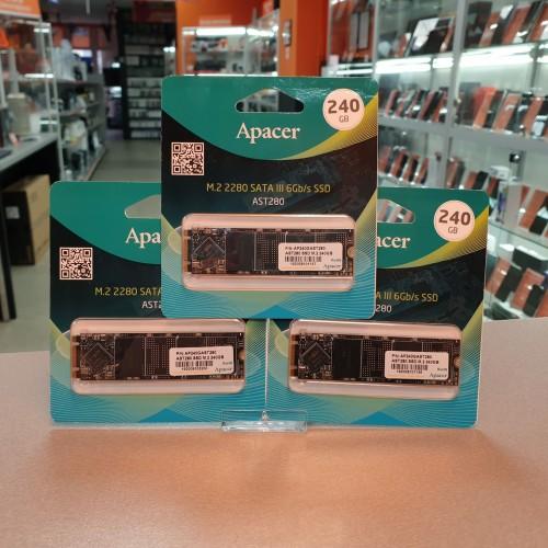SSD Apacer AST280 240 Gb SATA-III M.2 2280