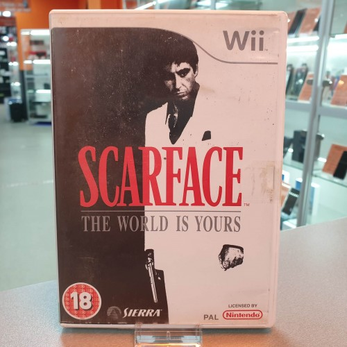 Scarface The World Is Yours - Joc WII