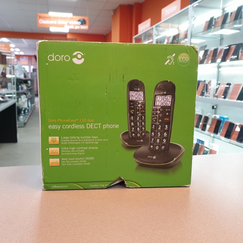 Set 2 Telefoane DECT fara fir Senior Doro PhoneEasy 110