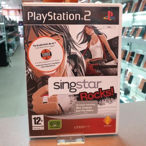 SingStar Rocks! - Joc PS2