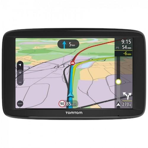 """Sistem de navigatie GPS TomTom Via 62, diagonala 6"""", 16 GB, bluetooth"""