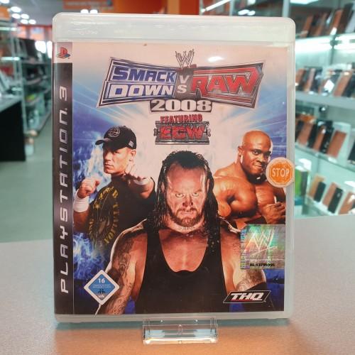 Smackdown Vs Raw 2008 - Joc PS3