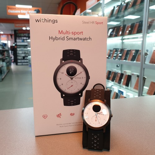 Smartwatch Hybrid Withings Steel HR Sport 40 mm