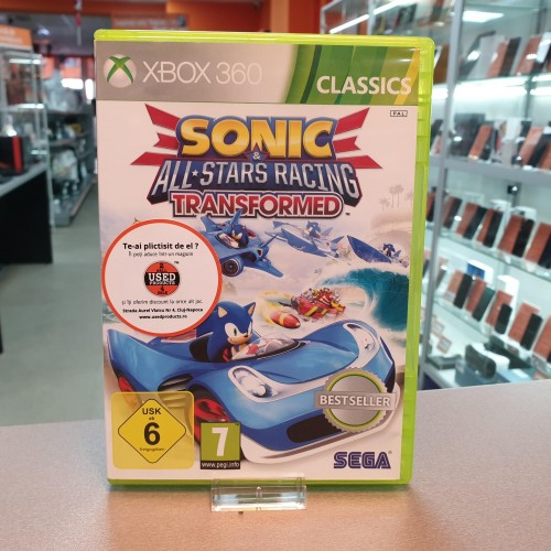 Sonic & All-Stars Racing Transformed - Joc Xbox 360