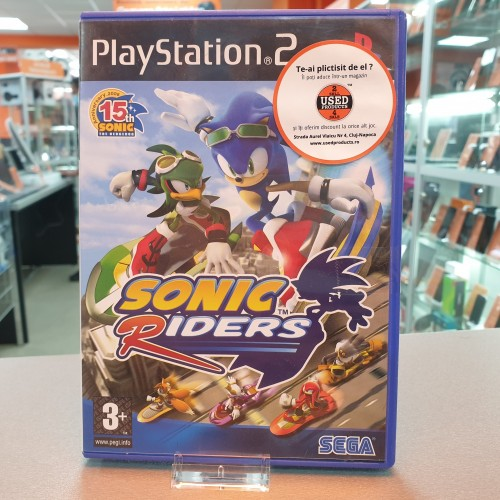 Sonic Riders - Joc PS2