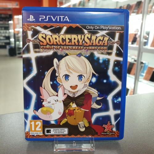 Sorcery Saga: Curse of the Great Curry God -Joc PS Vita