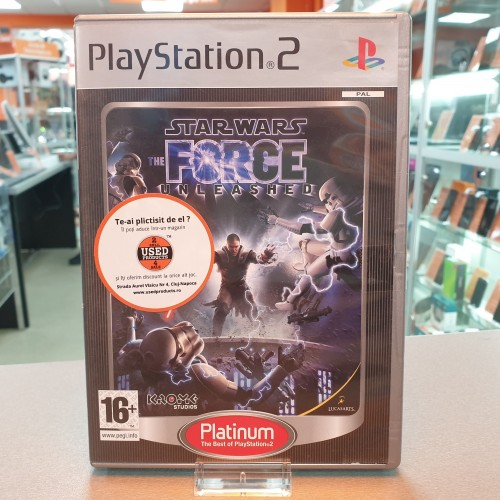 Star Wars The Force Unleashed - Joc PS2