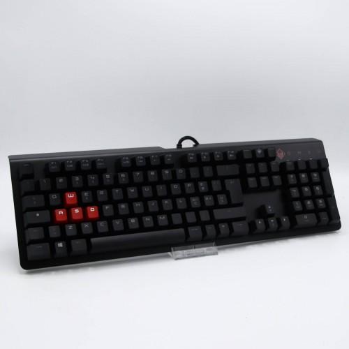 Tastatura gaming mecanica HP Omen Encoder, Iluminata, Switch Cherry MX Brown