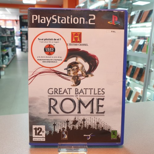 The History Channel Great Battles of Rome - Joc PS2