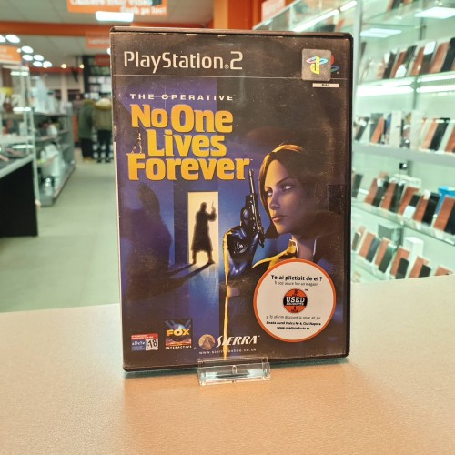 The Operative No One Lives Forever - Joc PS2