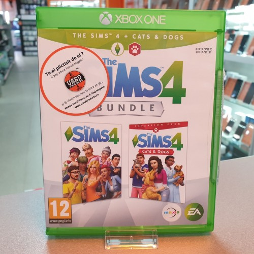 The Sims 4 Cats & Dogs Bundle - Joc Xbox ONE