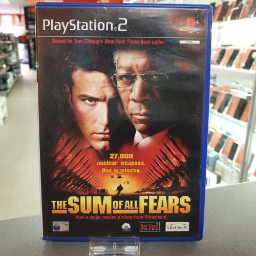 The Sum of All Fears - Joc PS2